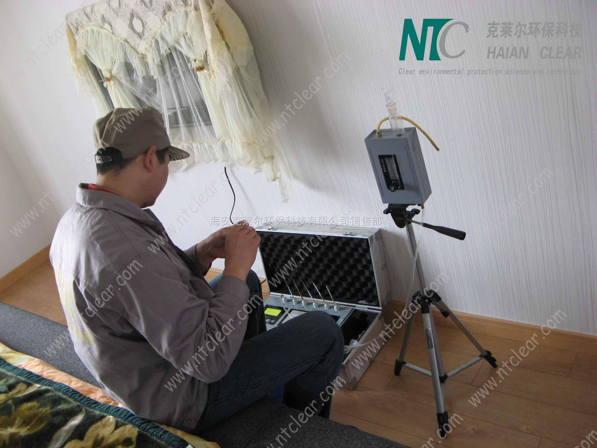 NTC-3小款-攀枝花瀘州德陽車內空氣檢測儀|八合一甲醛檢測儀|甲醛檢測治理儀器