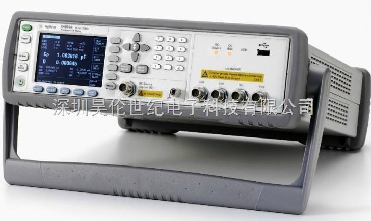 安捷伦E4980a 阻抗分析仪电桥表