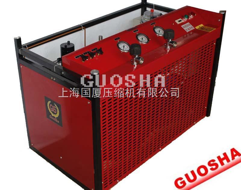 300公斤CNG加气站管道压力检测用高压空压机