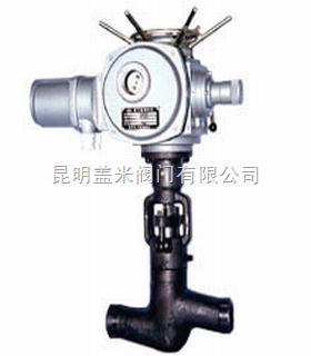 电动截止阀J961H-电动阀门-盖米阀门-昆明盖米阀门