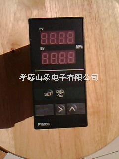 智能压力温度双显示仪表PY602S