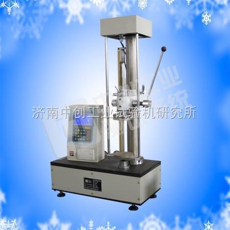 液晶显示弹簧拉压试验机厂、双数显弹簧检测设备价格、弹簧测力计