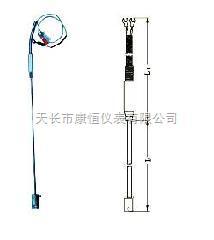 供应薄片热电阻 pt100热电 wzp-231