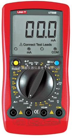 UT58B-优利德通用型数字万用表