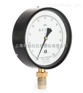 YB-150B 精密压力表 0.25级 上海自动化仪表四厂