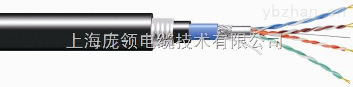 超五类 双屏蔽(铝箔+编织)钢带铠装 以太网电缆