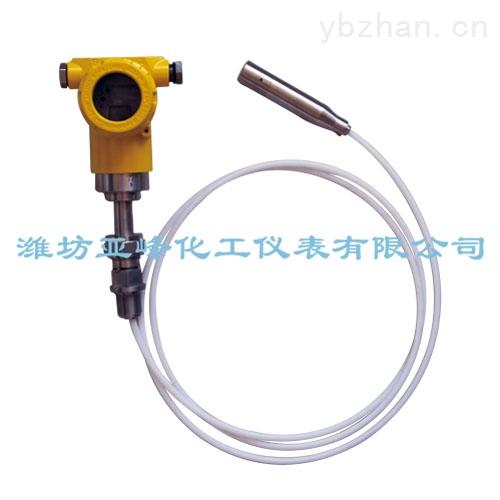 uyb 电容式液位计  信息内容:uyb电容式液位计是依据电容感应原理,当