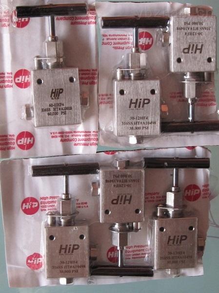 多款供應-超高壓手動針閥 品牌:美國HIP