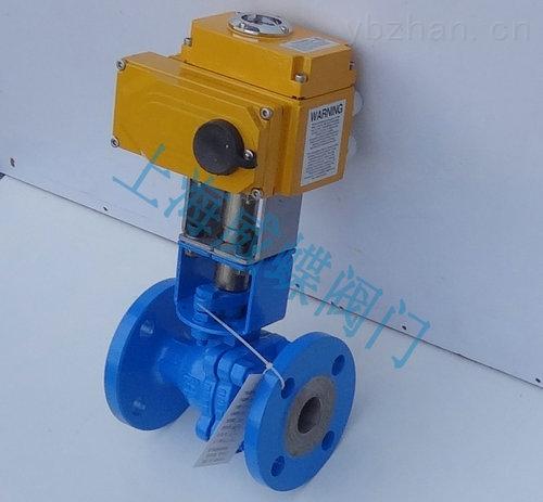 碳鋼電動高溫球閥,電動高溫球閥說明書