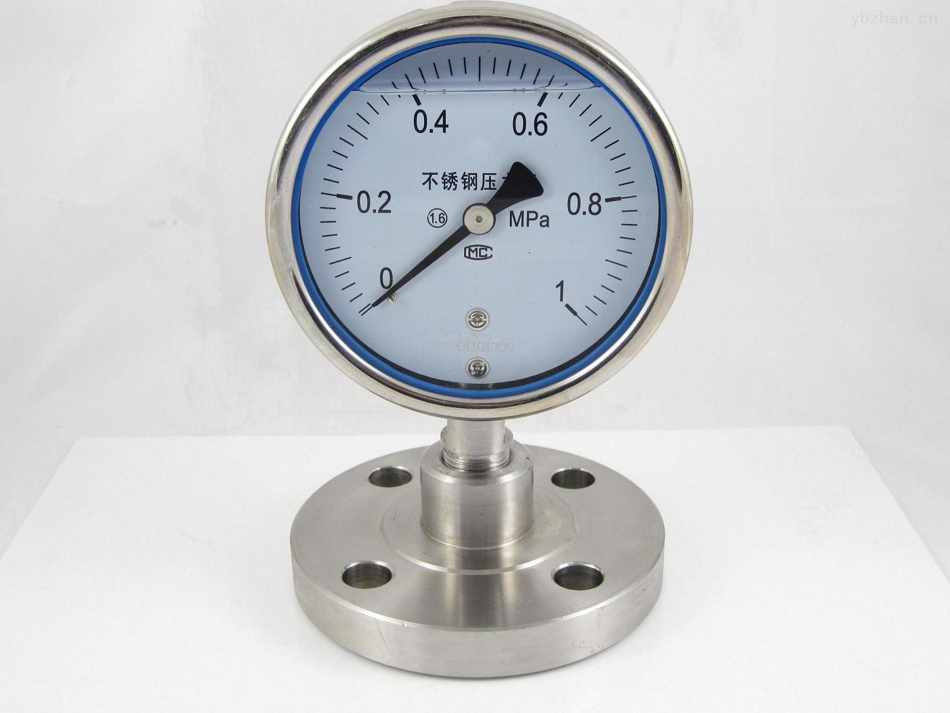 安徽威格weinstr仪表隔膜法兰压力表