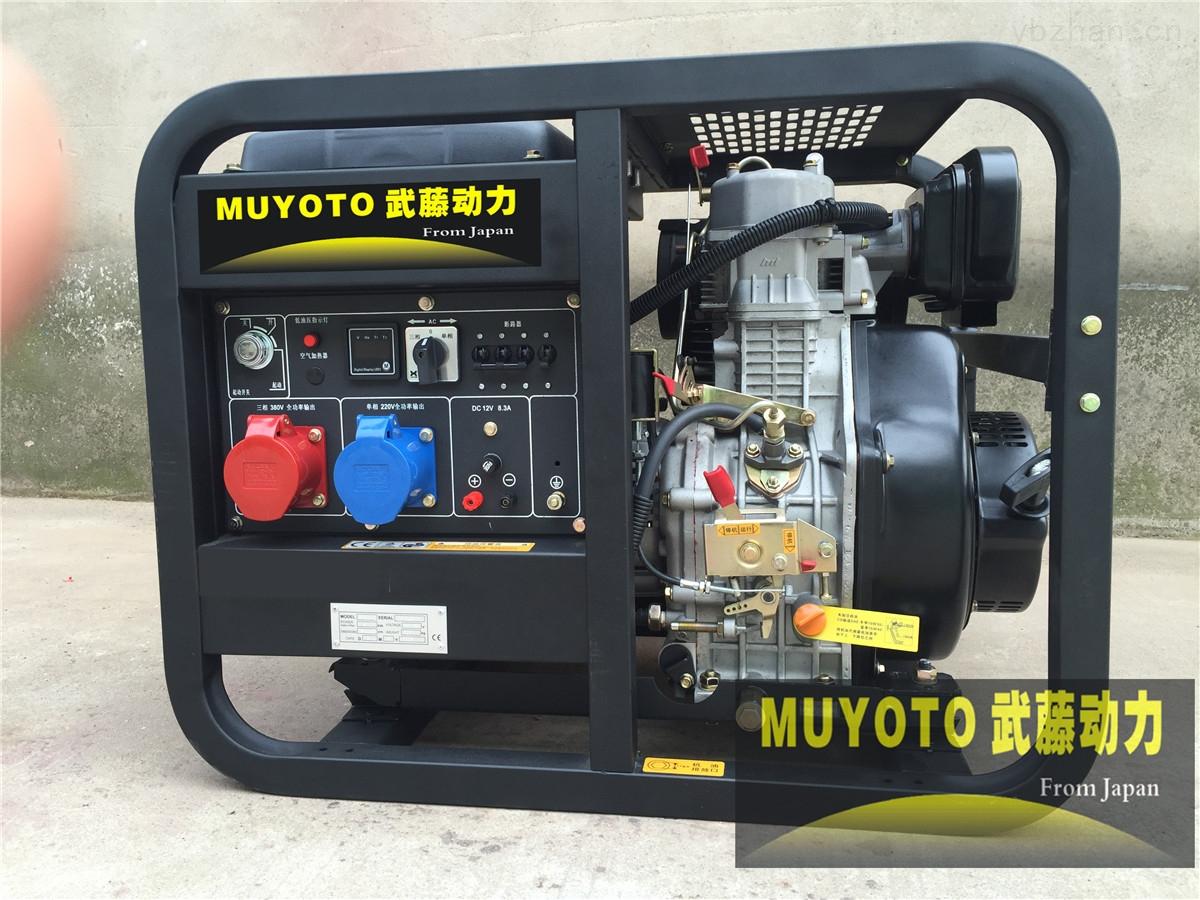 6KW三相柴油发电机组