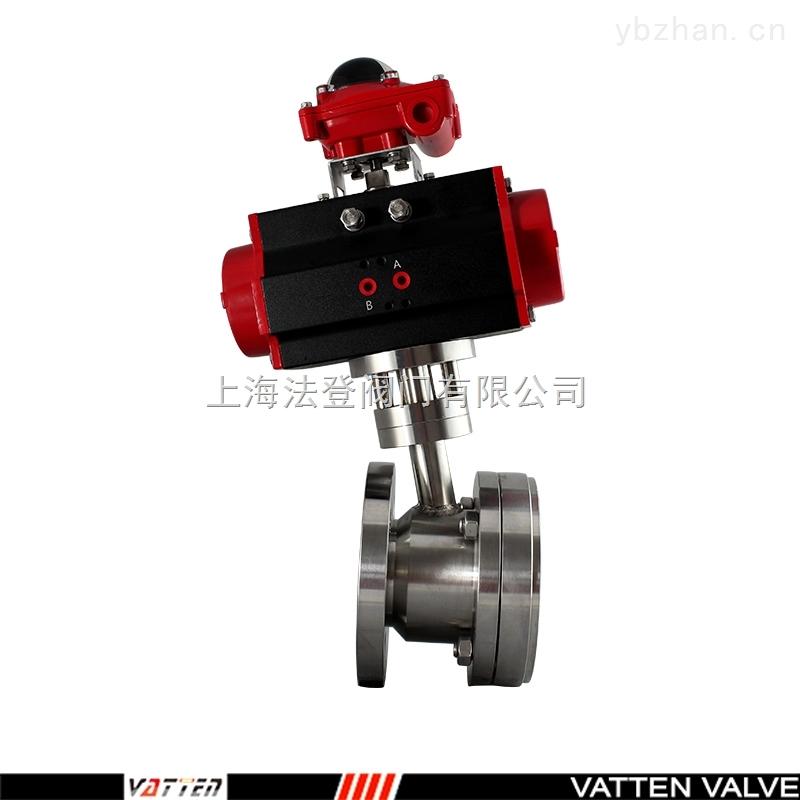 VT2不锈钢气动罐底阀、气动上展式放料专用阀