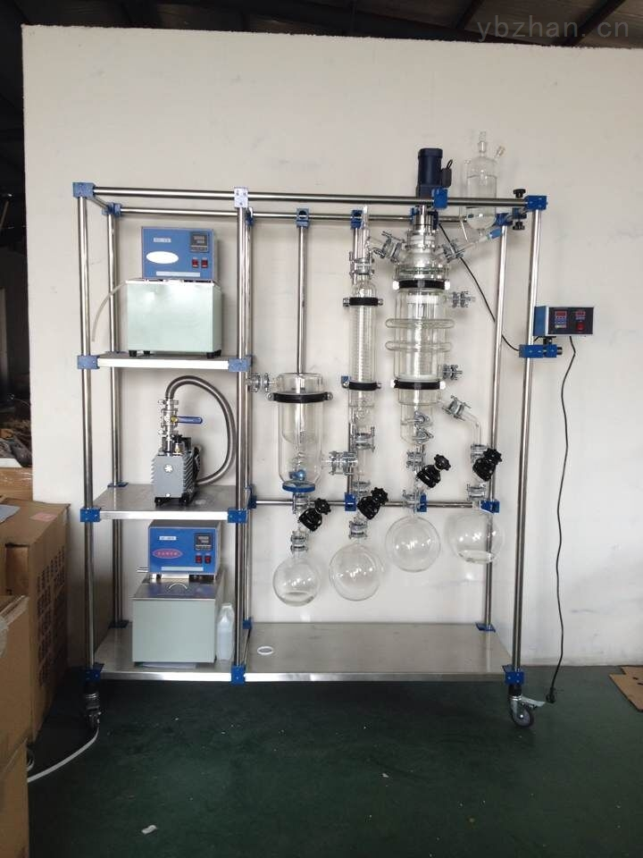 刮膜式分子蒸馏,刮膜式分子蒸馏设备