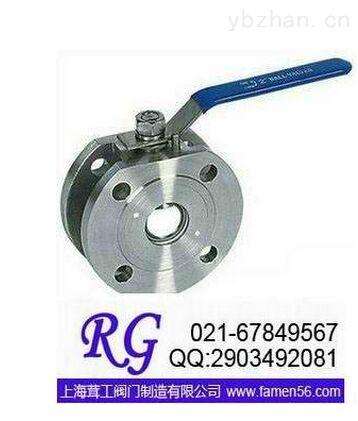 对夹球阀Q71F --上海茸工阀门制造有限公司