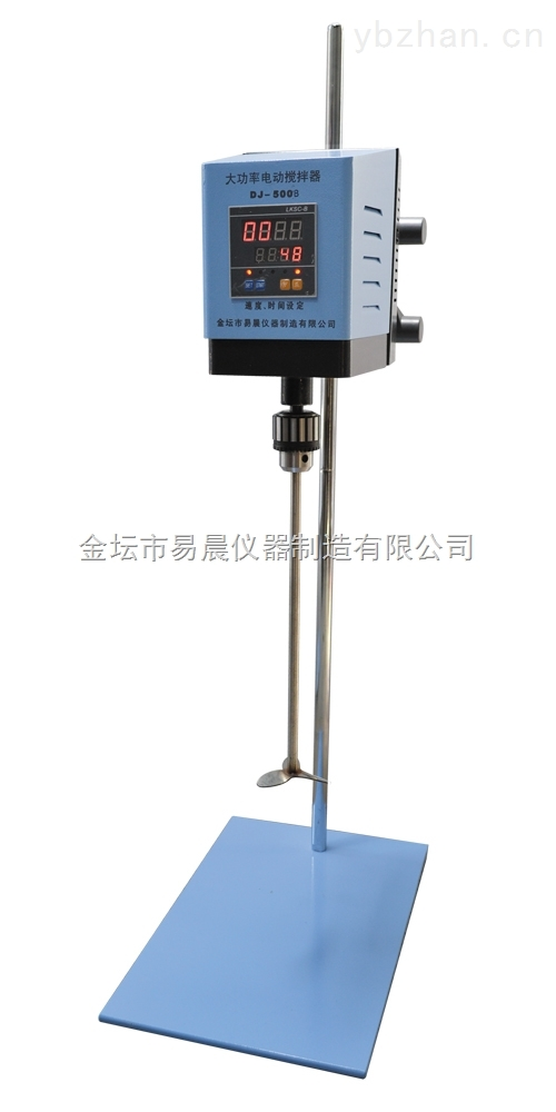 数显机械定时恒速电动搅拌器