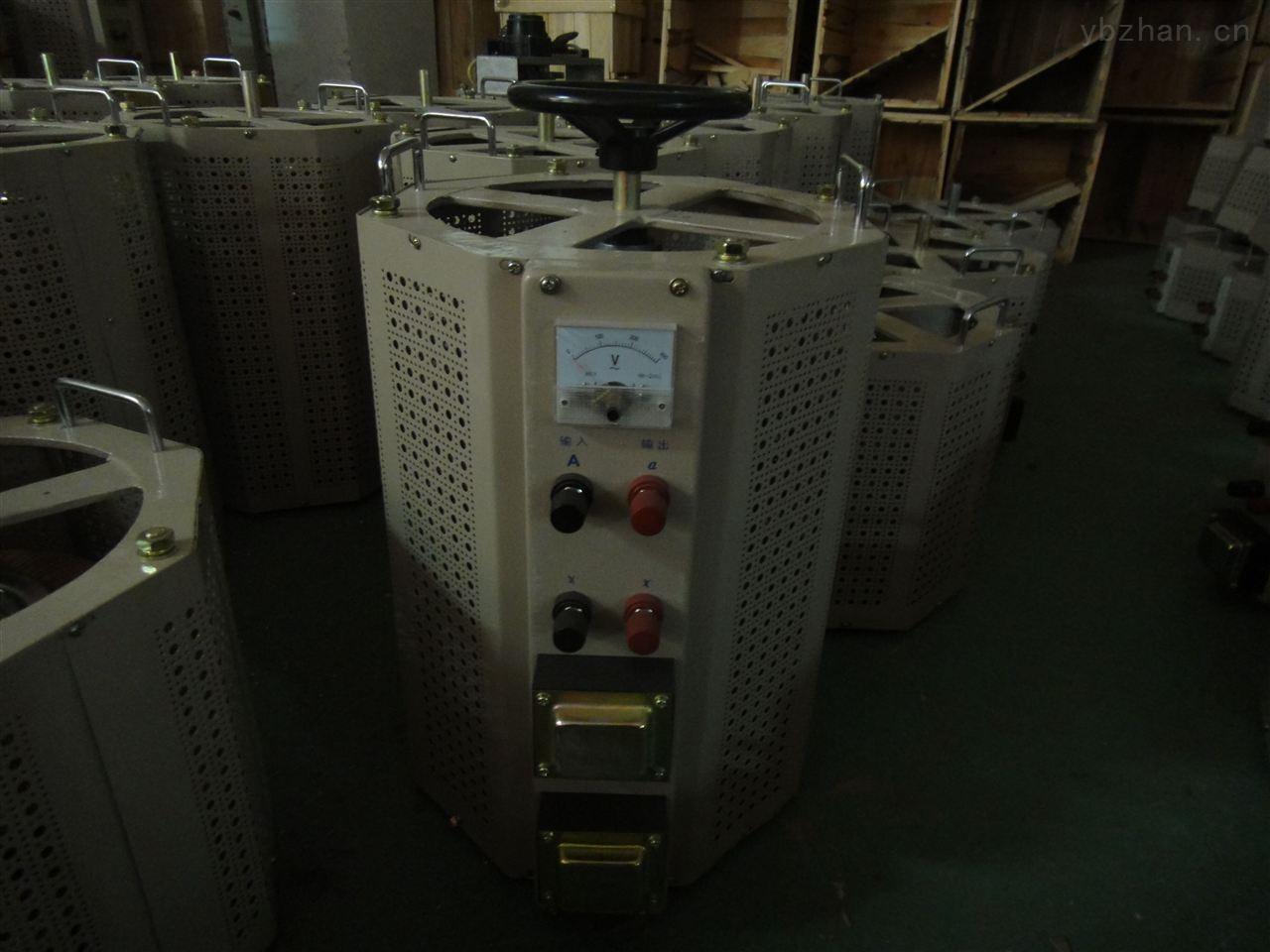 包头TDGC2J-20KVA单相接触式调压器
