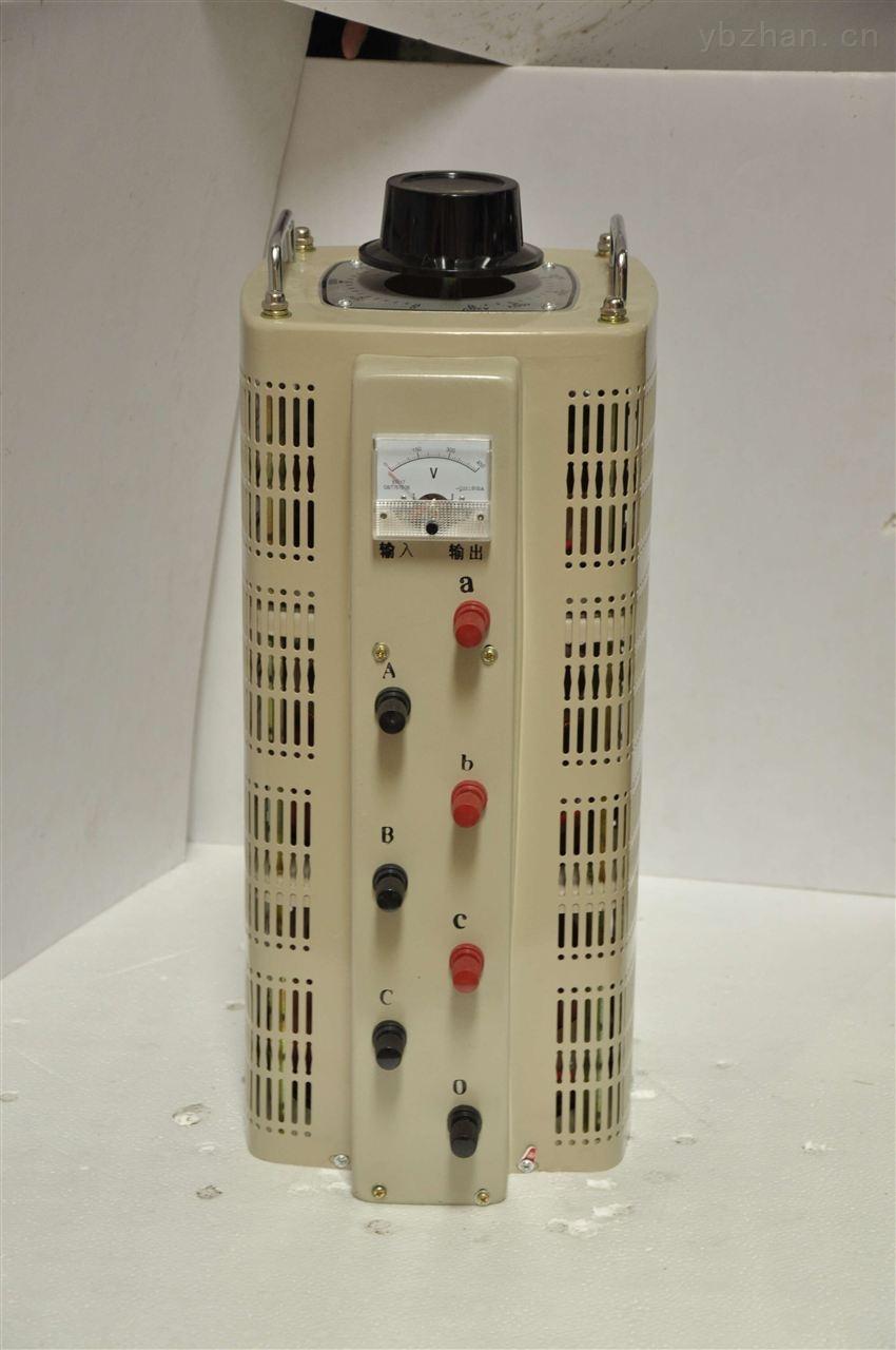 上海TSGC2-3K接觸式自耦調壓器