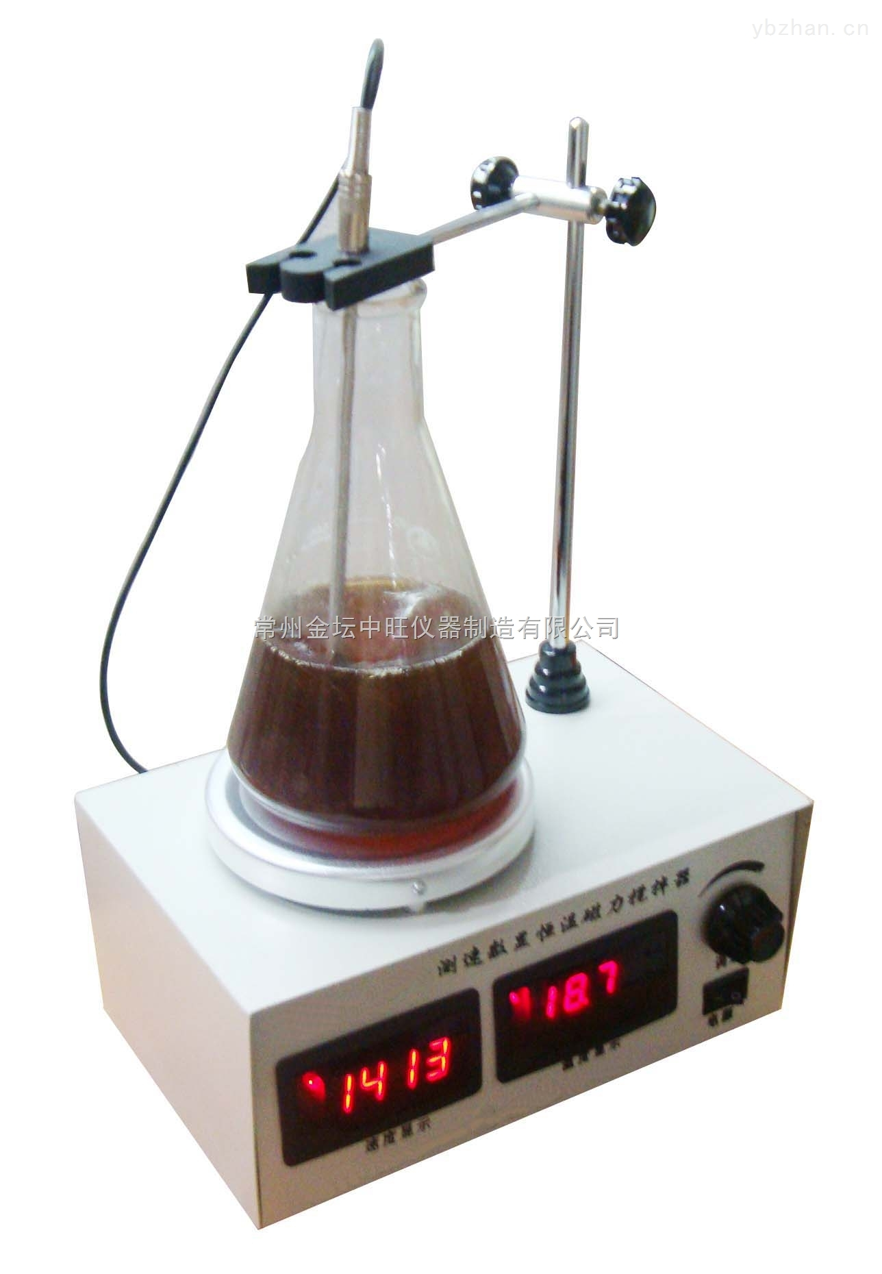 双数显恒温测速磁力搅拌器