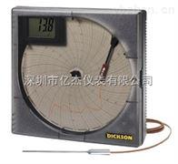KT802美国DICKSON KT8系列图表温度记录仪