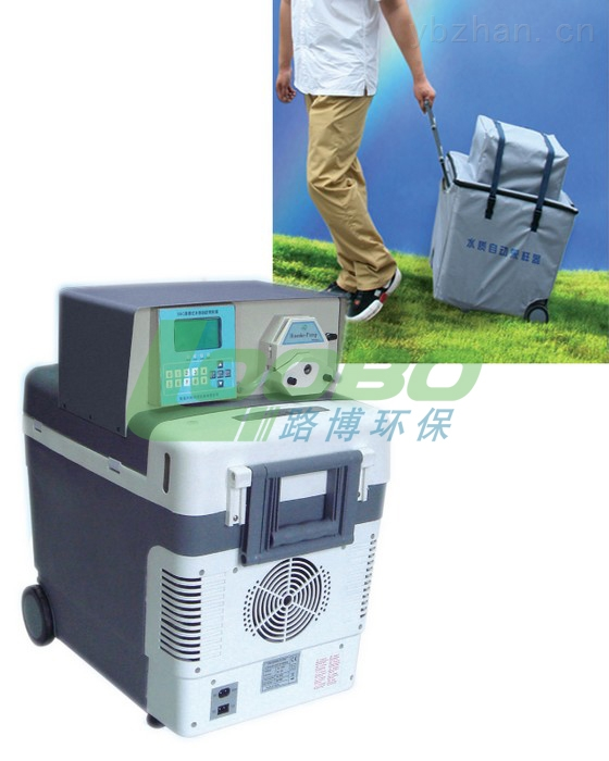 LB-8000D-河北新乐市 鹿泉市供应 LB-8000D便携式水质等比例采样器智能自动