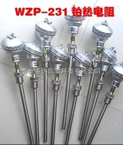 中低温装配式固定螺纹热电阻WZP-230
