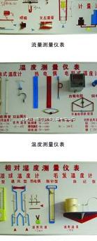 溫度、壓力、流量、濕度測量儀表成套示教板