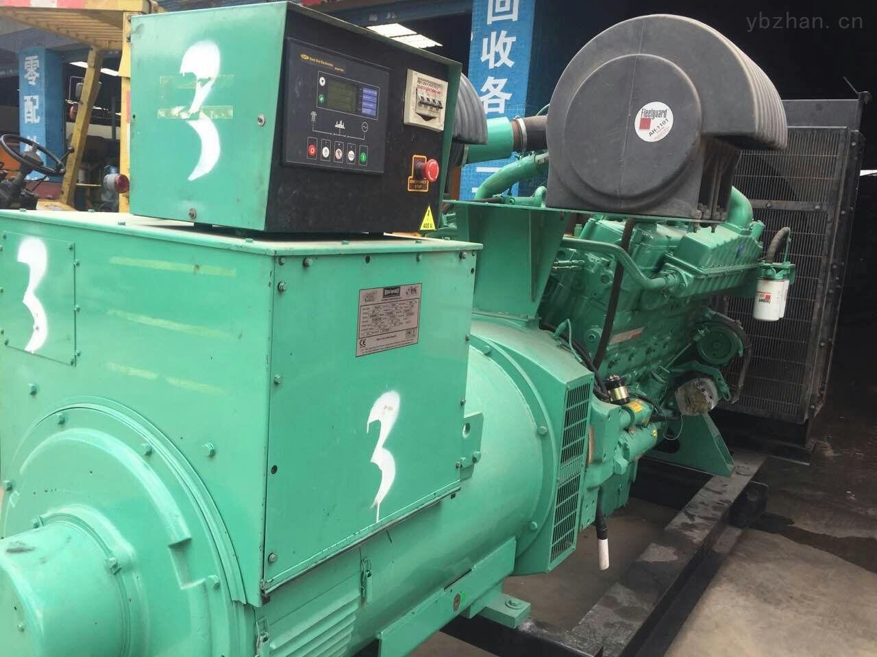 超级靓机二手550KW美国进口康明斯发电机