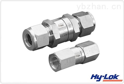 韩国HY-LOK阀门原装进口高压单向阀/厦门穆齐机电设备有限公司