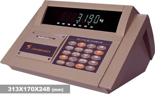 XK3190―DM1 m型锌合金机壳