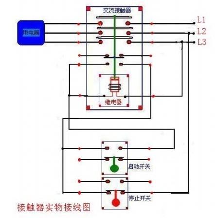 施耐德LC1-D95交流接触器接线图