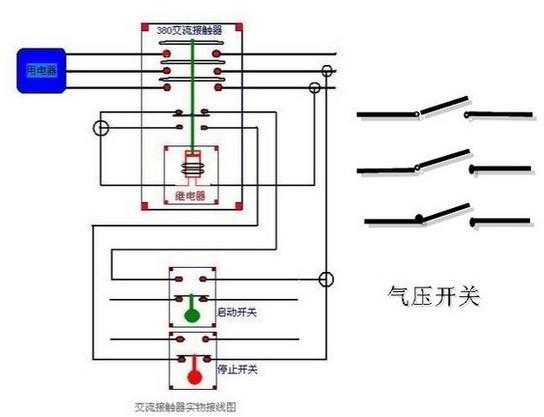 双重联锁正反转电路图接线图