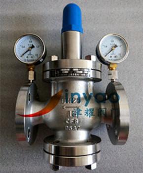 减压阀yk42x-40p/带压力表减压阀图片图片