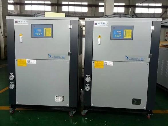 给水槽降温,制冷,冷却用的风冷式冷水机