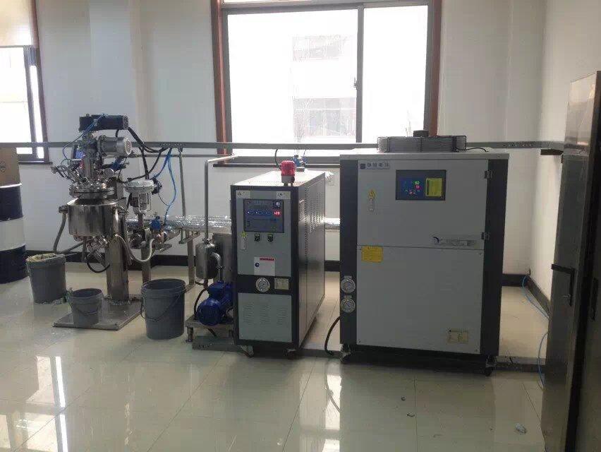 给反应釜夹套降温,制冷,冷却用的工业冷冻机