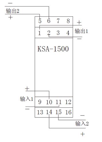 ksa-1500无源隔离器