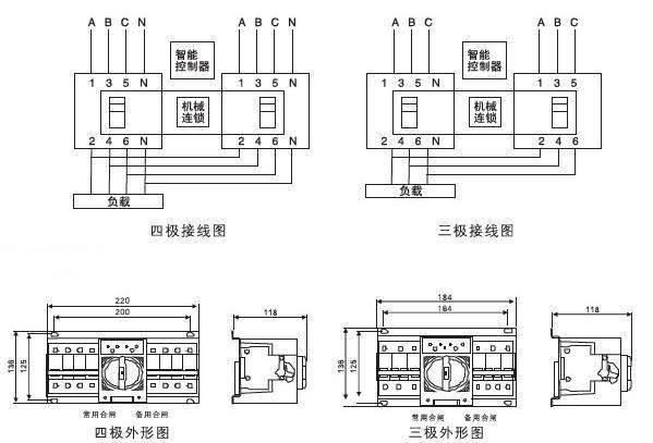 sq3r-63双电源自动转换开关