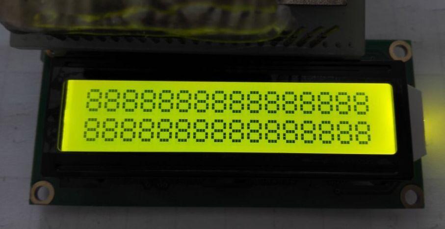 字符lcd1602液晶屏